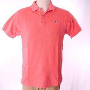 Vineyard Vines Cotton Polo Shirt Sz S EUC